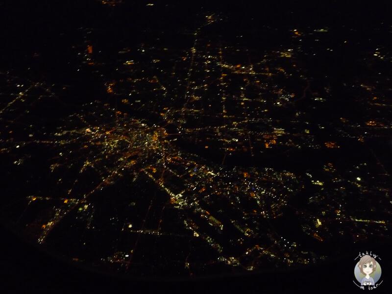 Auf unserem Nachtflug