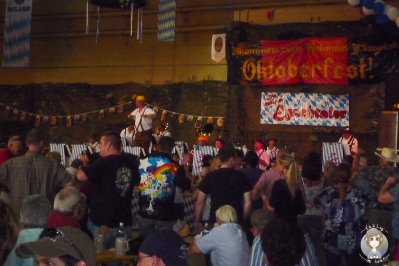 Oktoberfest auf der Air Firce Bace in Alamogordo