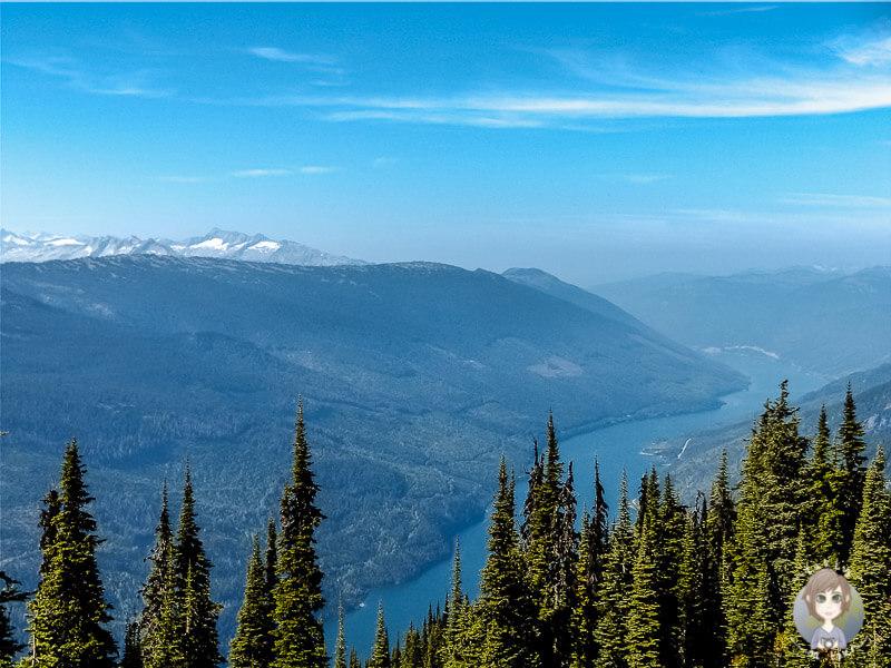 Ein kleiner See im Mount Revelstoke National Park, Kanada, Kanada
