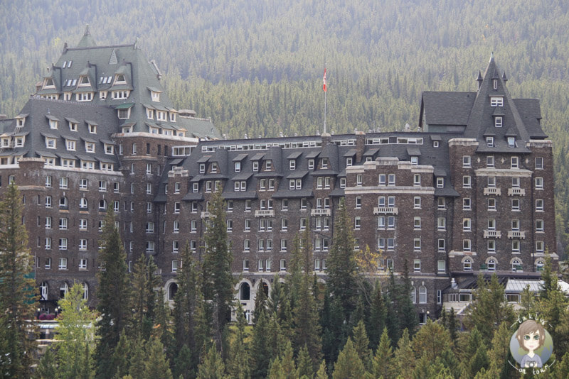 Das Fairmont Banff Springs Hotel, Alberta, Kanada