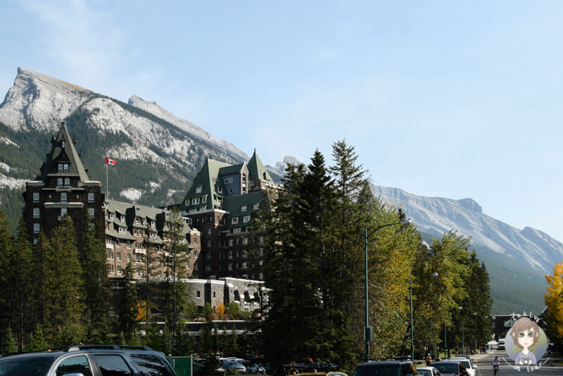Das Fairmont Springs Hotel in Banff, Kanada