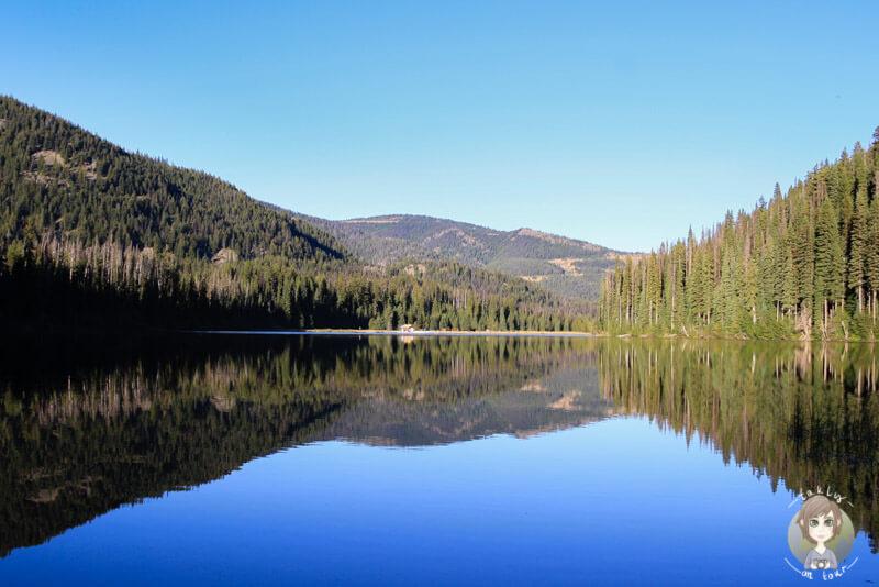 Der Lightning Lake im Manning Provincial Park, British Columbia, Kanada