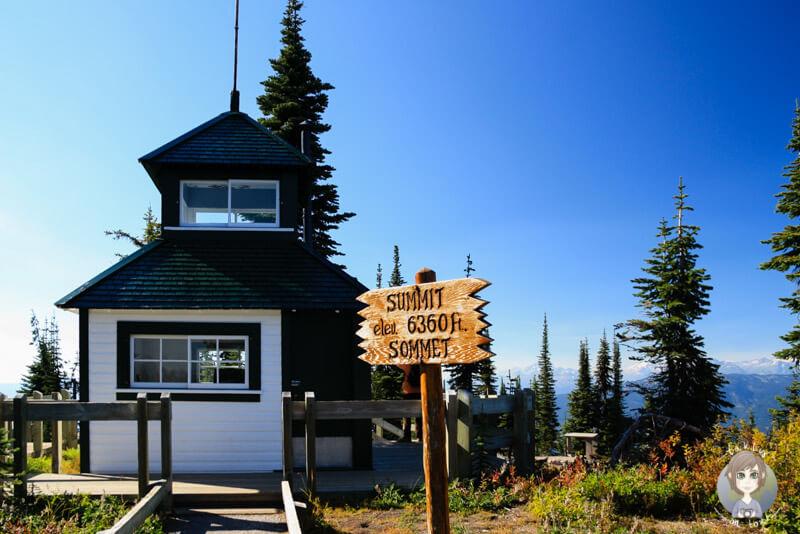 Fire Lookout, Mount Revelstoke National Park, BC, Kanada