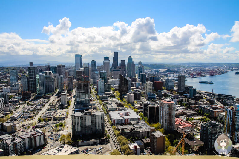 Ausblick vom Space Needle Seattle