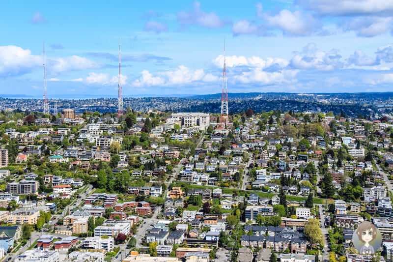 Ausblick vom Space Needle Seattle (2)