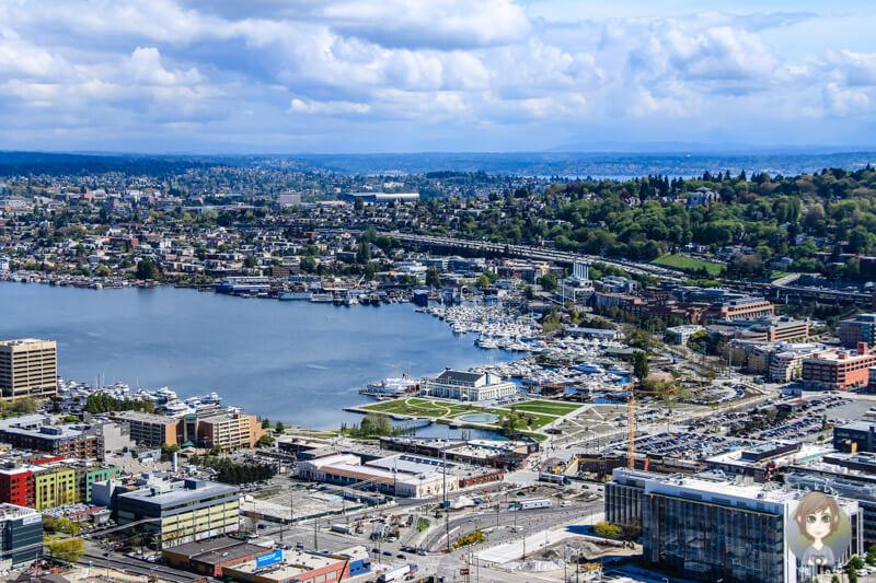Ausblick vom Space Needle Seattle (4)