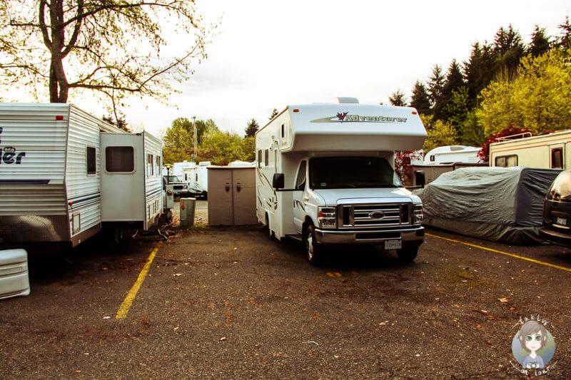 Stellplatz auf dem Trailer Inn´s RV Park