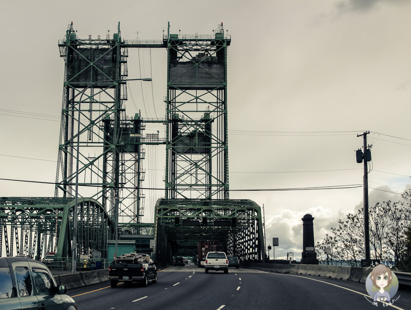 Brücke in Portland, Washington