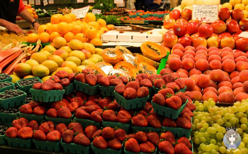 Obst auf dem Public Market Sattle