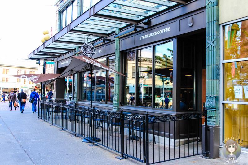 Erster Starbucks Seattle