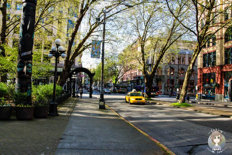 Straße in Seattle (2)