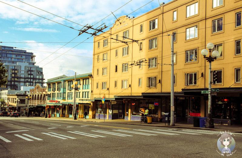 Straße in Seattle