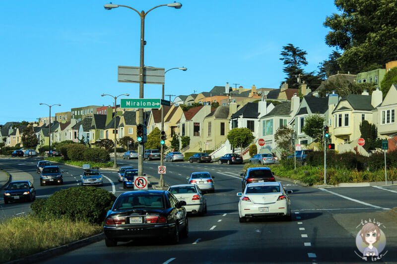 Auf dem Weg nach San Francisco (1)