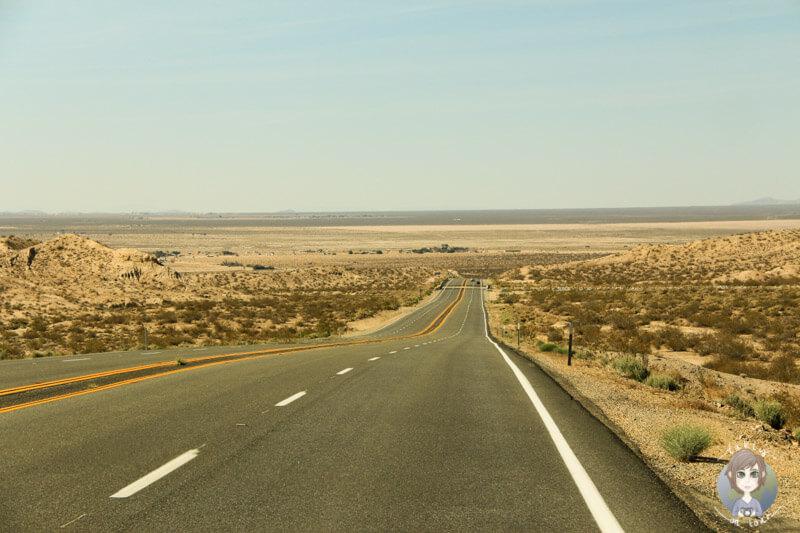 Typische Straße in Amerika