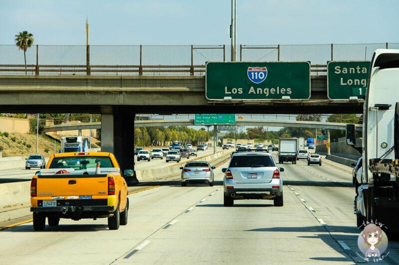 Verkhersschilder in Los Angeles