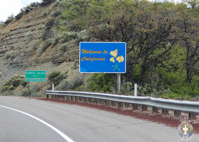 Grenze Kalifornien