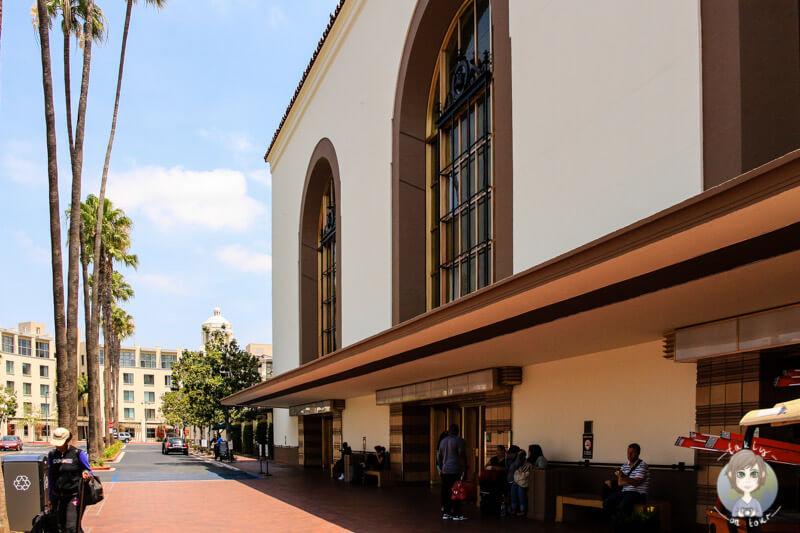 Train Station in LA