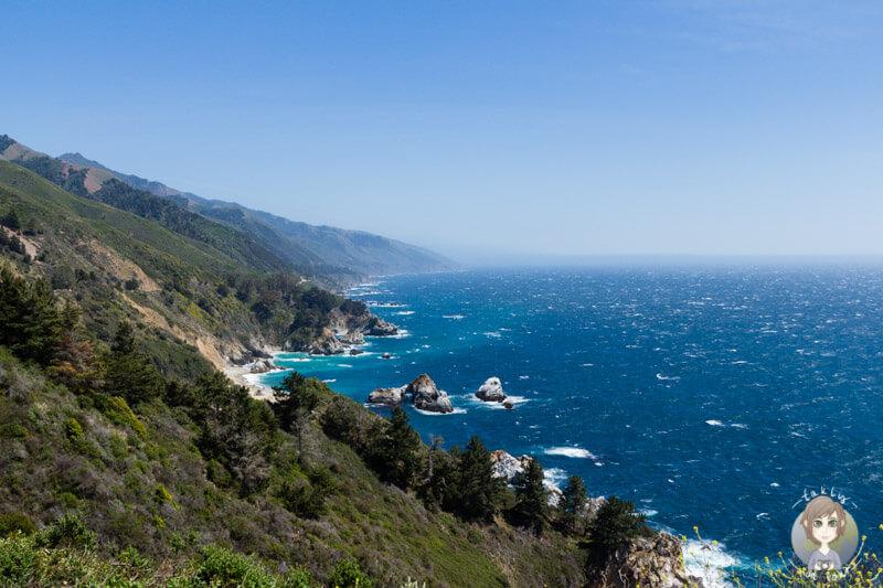 Toller Blick über die Pazifikküste