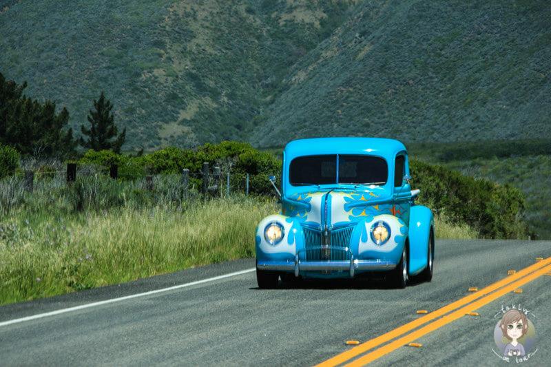 buntes Auto in Kalifornien