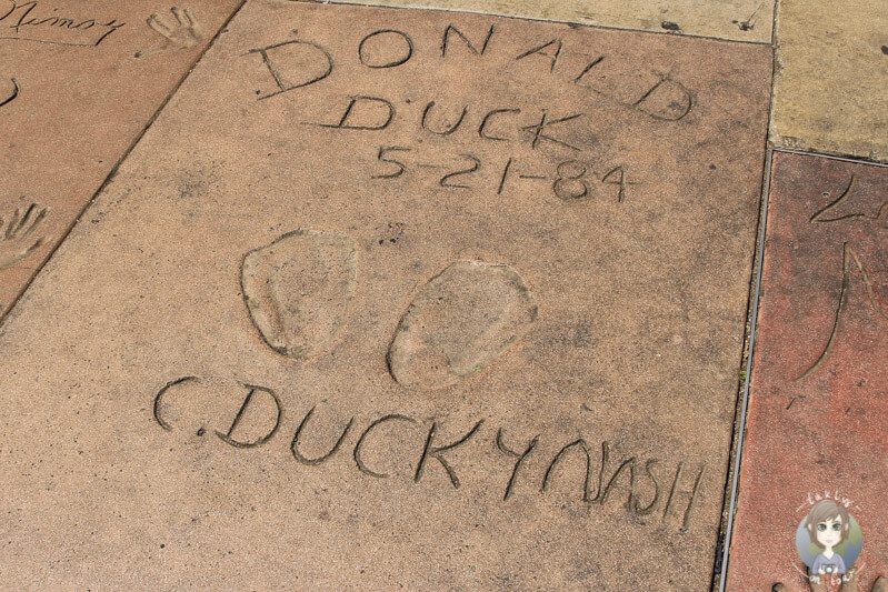 Donald Duck in Hollywood