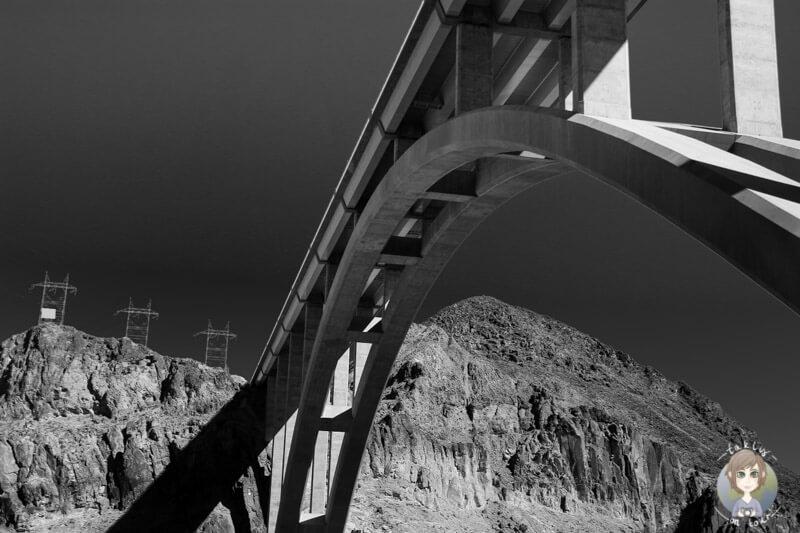Die Brücke über den Hoover Dam