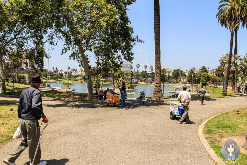der King Arthur Park in LA