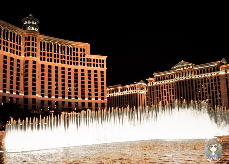 Wassershow am Bellagio, Las Vegas