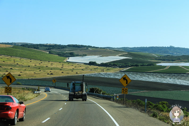 Highway 1 bei Lompoc