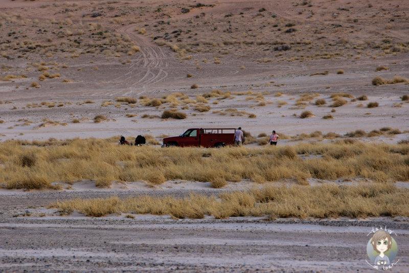 Festgefahren auf dem Lone Rock Campground