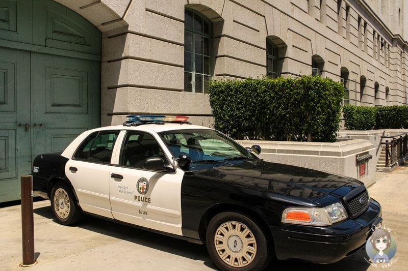 Polizeiauto LA