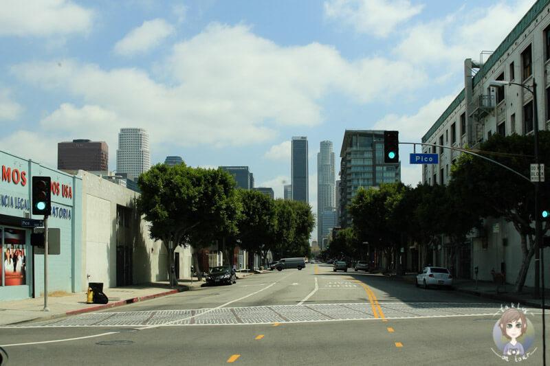 Parkplatzsuche in Los Angeles