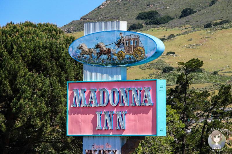 Schild vom Café Madonna Inn
