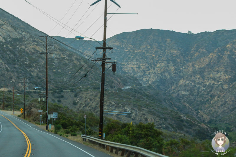 Berge in Malibu