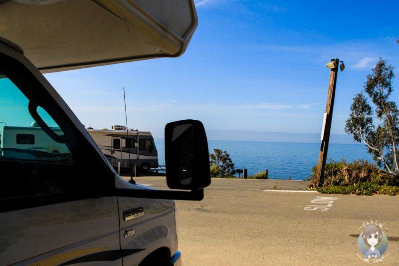 Aussicht vom Malibu Beach RV Park
