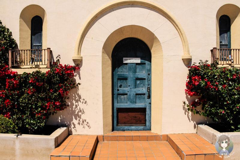 Hauseingang in Monterey