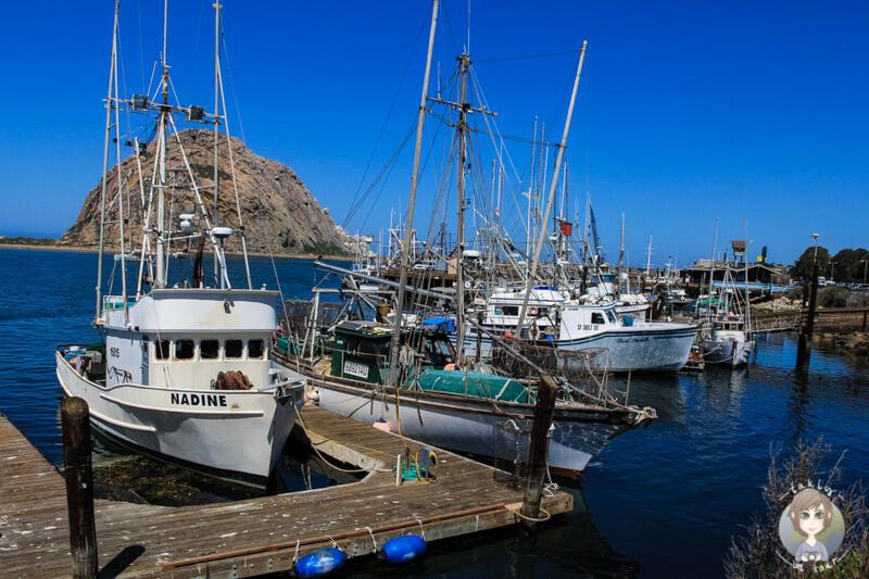 Fischerhafen in Morro Bay
