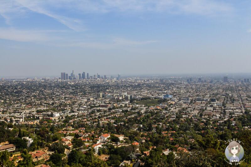 Blick auf die Stadt vom Observatoy, Los Angeles