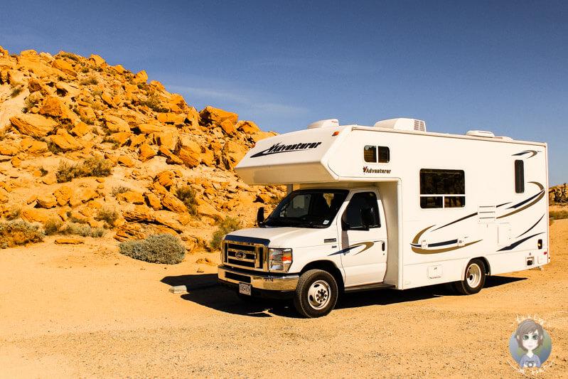Campingplatz im Red Rock State Park wahrend unserer Rundreise USA Westkueste