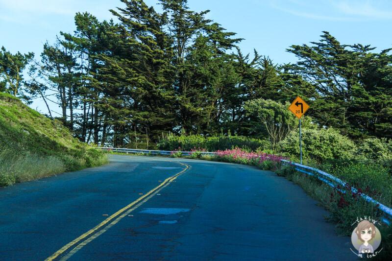 San Francisco Richtung Twin Peaks (1)