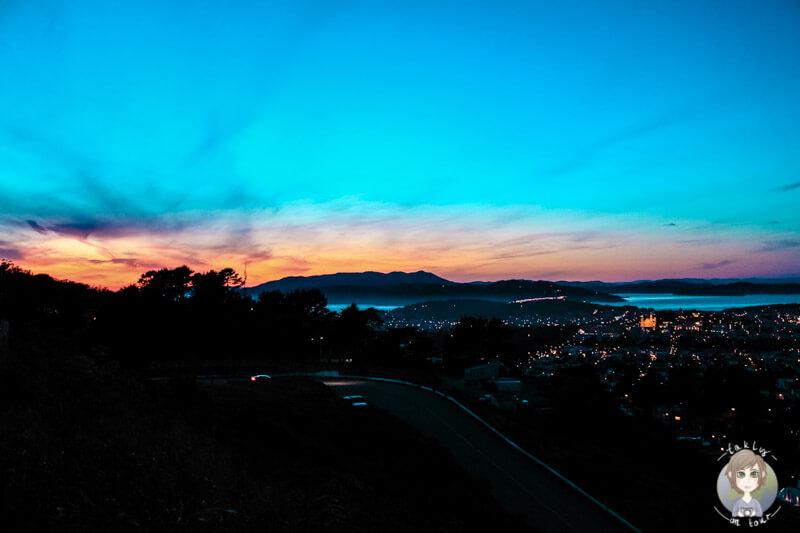 Sonnenuntergang über San Francisco