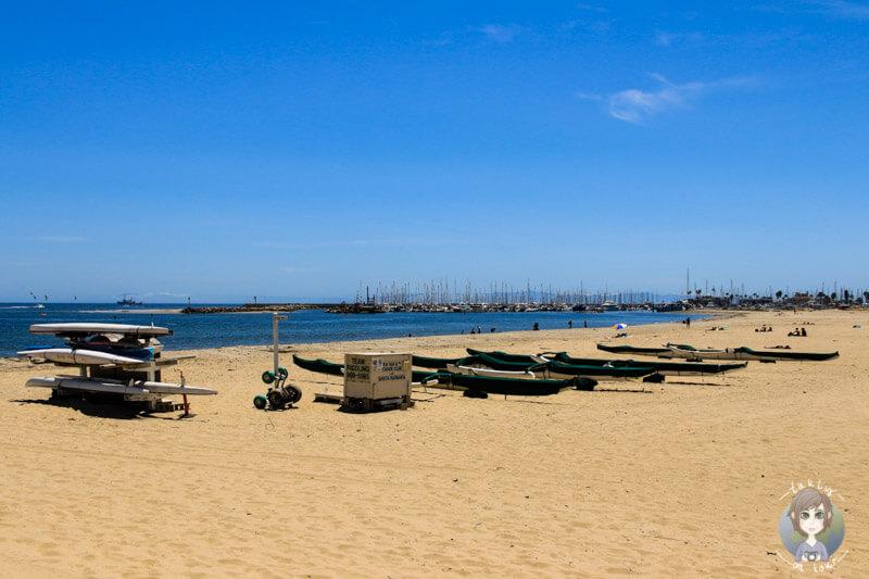 Strand von Santa Barbara