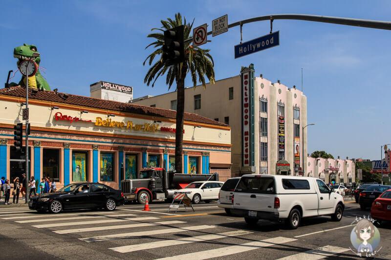 Straße in Hollywood, Los Angeles