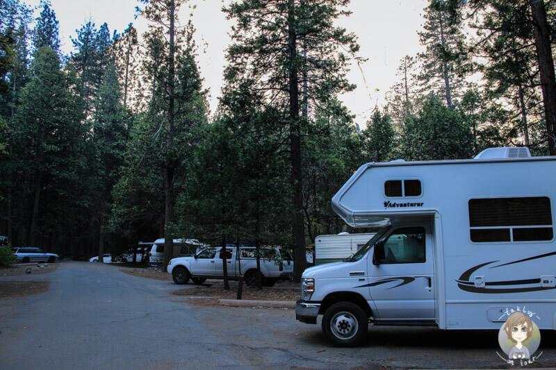 Upper Pines Campingplatz Yosemite