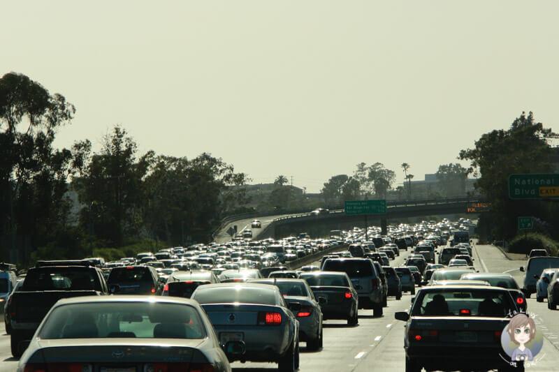 Verkehr in Los Angeles