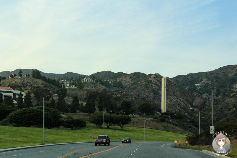 ab in die Berge bei Malibu