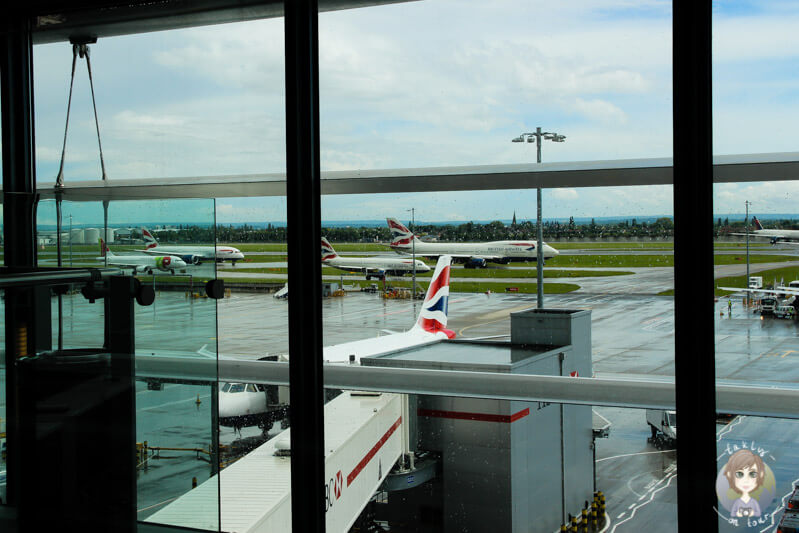 British Airways in Vancouver
