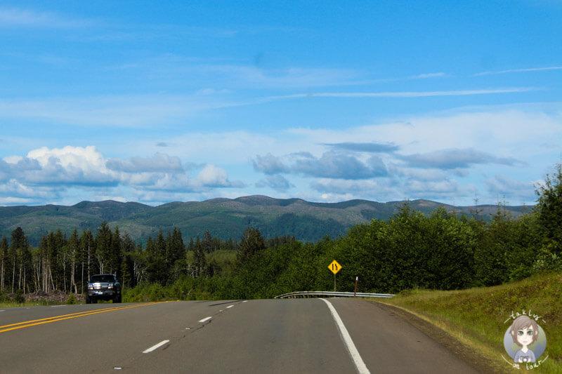 Fahrt durch Washington State