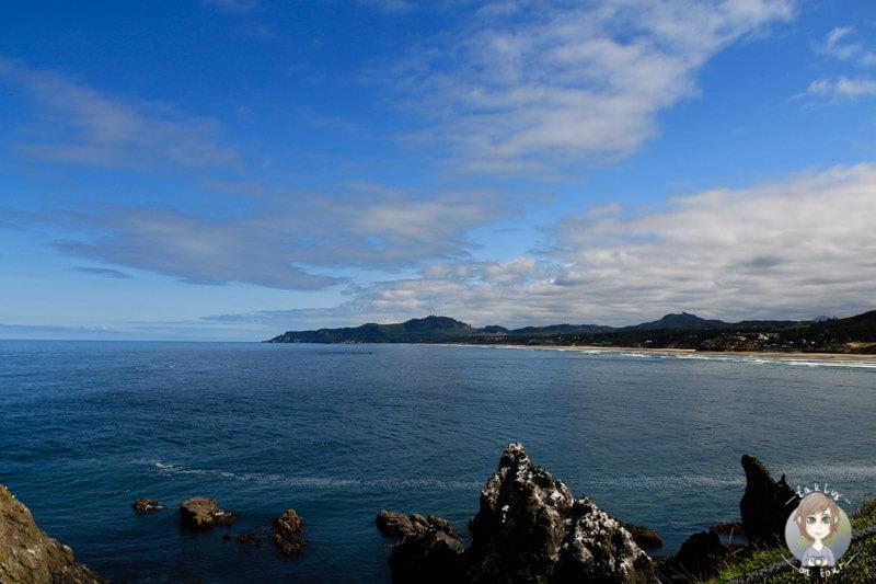 Blick auf das Meer am Yaquina Head Lighthouse