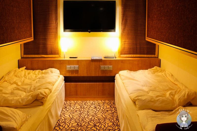 Vierbettzimmer auf der AIDAmar