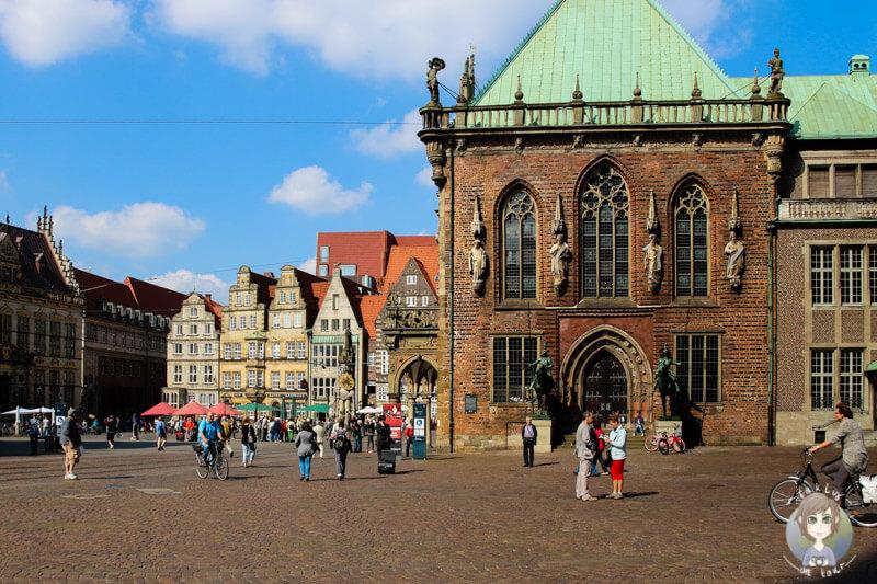Am Domshof in Bremen